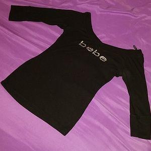BEBE half sleeve blouse